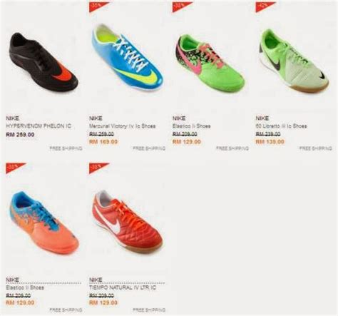 Jual Kasut Nike jual kasut bola futsal murah