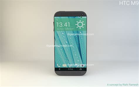 Htc One M9 htc one m9 concept phone sports 5 2 inch hd display