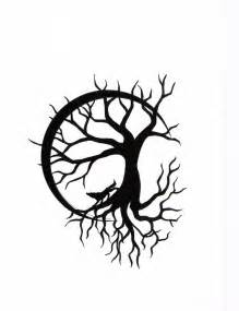 tree of life with wolf design by calamitymoon on deviantart