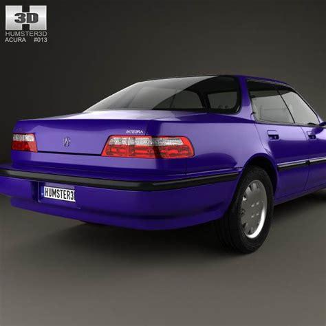 acura integra 1990 parts acura integra 1990 3d model humster3d