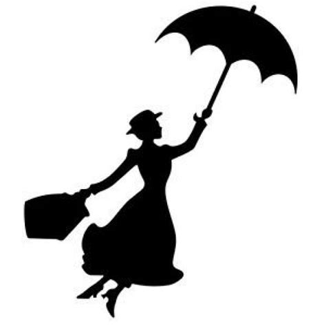 Fun Kitchen Gadgets by Mary Poppins Silhouette 6 Quot Black Car Truck Vinyl Decal Art