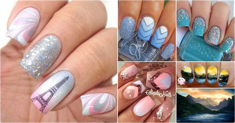 pattern acrylic nails top 100 most creative acrylic nail art designs and