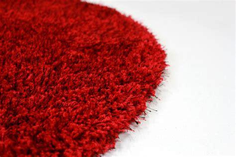 teppich rund rot rund teppich 200 cm rot spectrum trendcarpet de