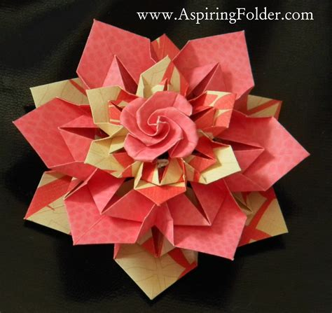 Pretty Origami Paper - origami ornament origami origami and count