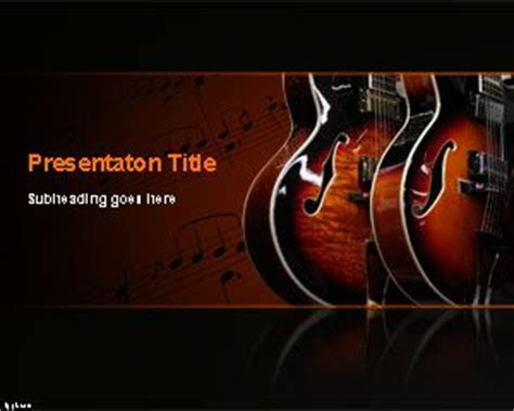 Free Music Powerpoint Templates Musical Powerpoint Templates