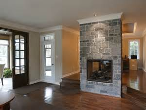 fireplace between two rooms rooms and decor i