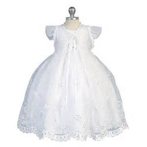 White flutter sleeves baptism dress girls newborn 5 sophiasstyle com