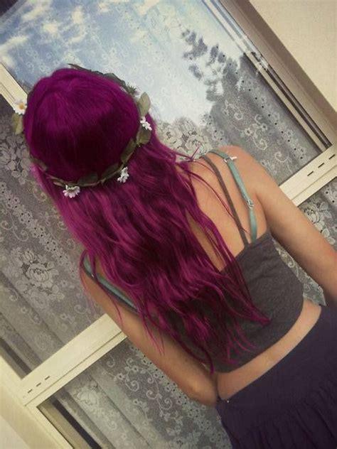 plum colored hair plum colored hair