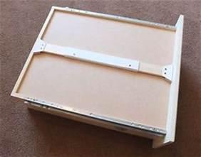 drawer bottom sagging repair a fix it yourself kit diy