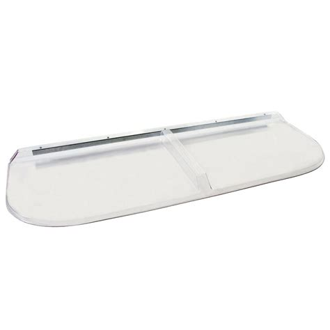 window well covers home depot shape products 57 in x 20 in polycarbonate elongated