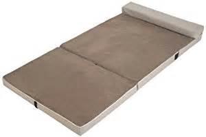 sharper image fold and go memory foam portable sleeper