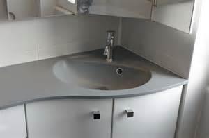 meuble de salle de bain d angle pas cher