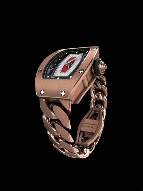 Richard Mille Rm 3501 Rubber Gold the new open link by richard mille superyachtdigest