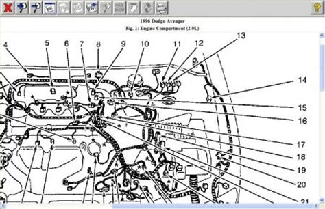 small engine maintenance and repair 1996 dodge avenger windshield wipe control 1997 avenger engine diagram repair wiring scheme