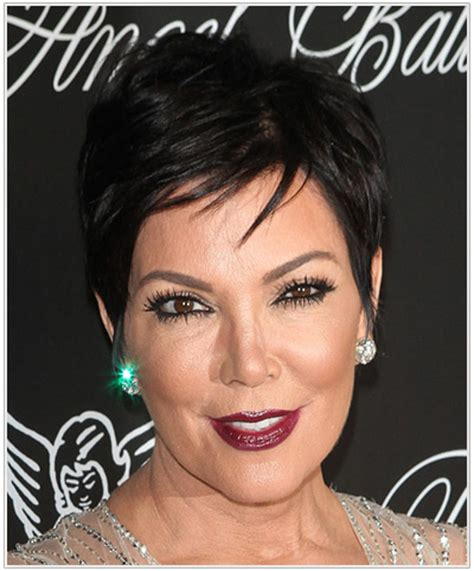 kris jenner short side part short hairstyles lookbook side parted hairstyle ideas