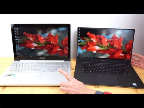 Which Laptop Is Asus Or Dell dell xps 15 infinity vs asus zenbook pro ux501 comparison smackdown