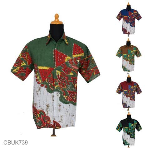 Kemeja Gradasi kemeja batik motif mega mendung gradasi warna kemeja