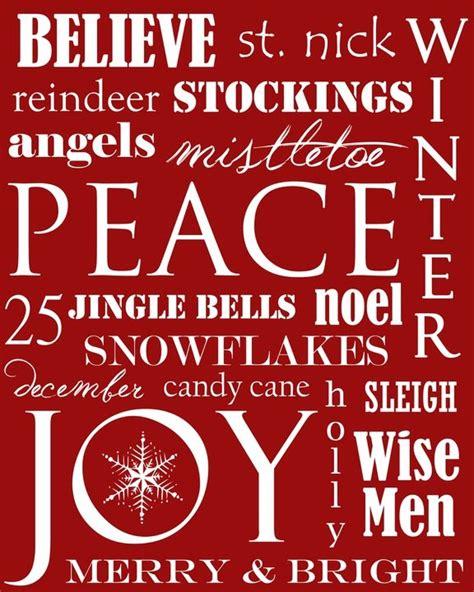 Printable Xmas Posters | craftily ever after free christmas subway art printable