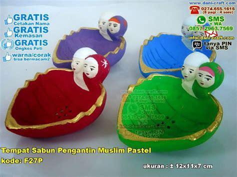 Tempat Pensil Pengantin Muslim tempat sabun pengantin muslim pastel souvenir pernikahan