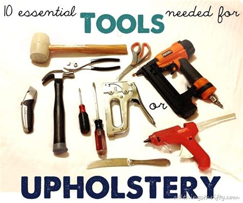 tools for upholstery all things thrifty 2013 project wrap up