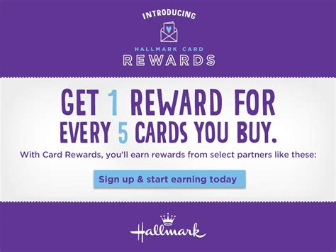 Gift Card Rewards Programs - hallmark card rewards earn rewards for card purchases enter to win 500