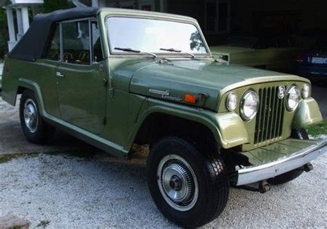 1970 jeep commando buy used 1970 jeepster commando 4 wheel drive in western
