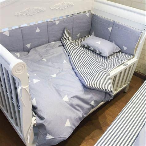 8 Pcs Sets Baby Bedding Set 100 Cotton Crib Bumper Baby Crib Bedding Sets 100