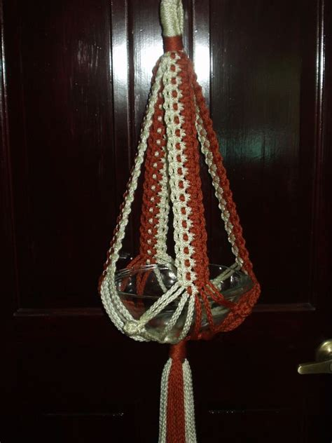 Macrame Hangers Patterns - basic plant hanger free macrame patterns macrame
