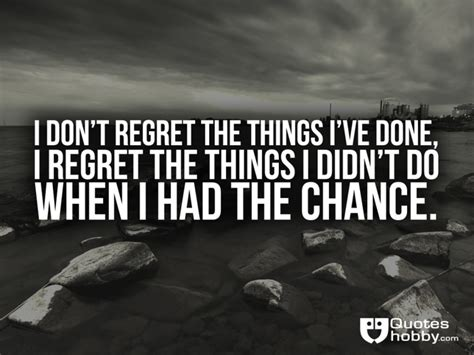 7 Great Things I Had A Chance To Experience As A Owner by I Don T Regret The Things I Ve Done I Regret The Things I