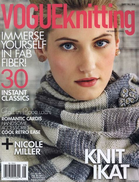 knitting magazine 25 best ideas about vogue knitting on cable
