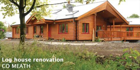 log house renovation passivehouseplus ie