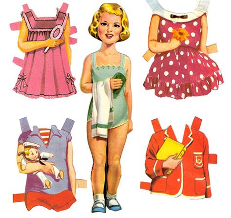 Paper Doll - serendipity paper dolls