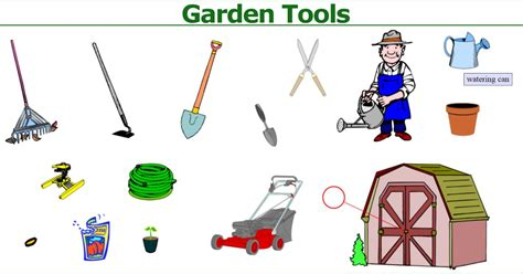 picture dictionary garden tools english  vancouver
