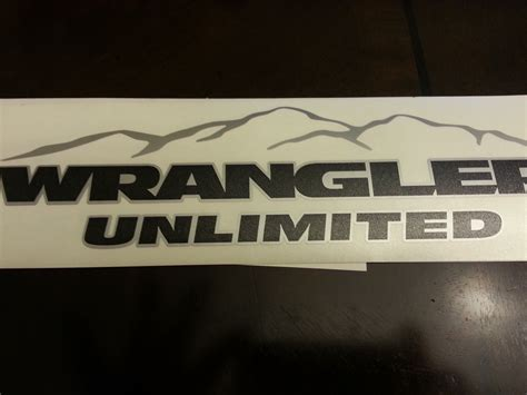 jeep wrangler logo decal image gallery decals unlimited