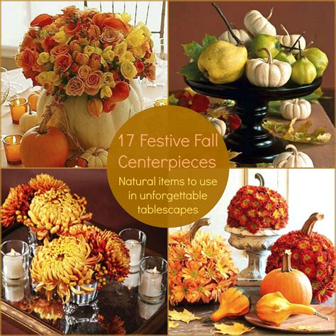 Images Of Decoration Pieces by Fall Center Pieces Ideas Homesfeed