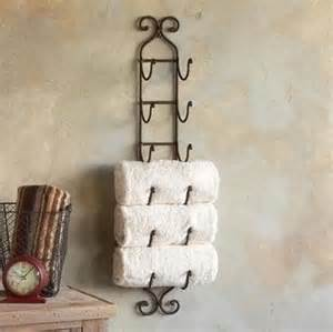 towel holder for guest bath bathrooms