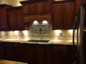 Tile Medallions For Kitchen Backsplash Maicon Backsplash Wall Medallions Traditional Kitchen