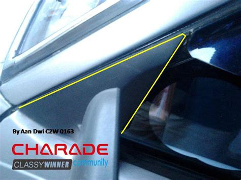 Spion Mobil Modifikasi diy modifikasi spion avanza e xenia pada charade g11 cs c2w community