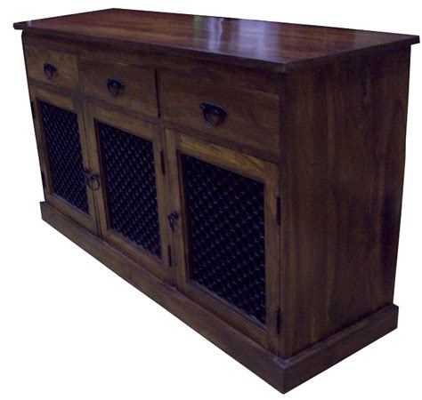 Indian Wood Sideboard sheesham sideboard wood call 0871 226 1812