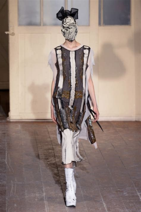 Margiela Brings Recycling To 2007 Haute Couture by Haute Couture Week Maison Martin Margiela Ss2013