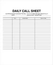 call sheet template daily call sheet template images