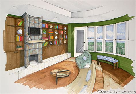 Living Room Drawing Room Living Room Perspective By Avarielgirl On Deviantart