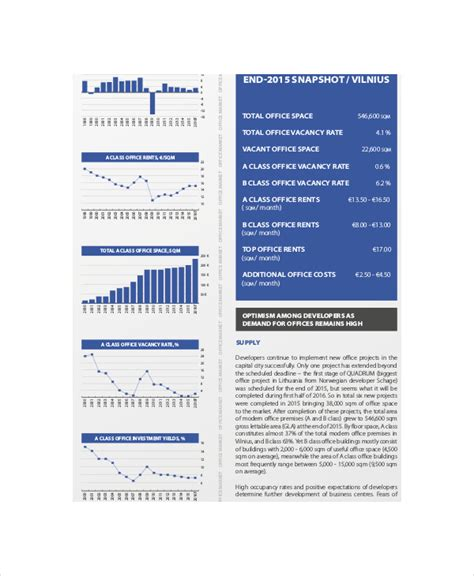 marketing forecast template real estate marketing template 8 free pdf psd