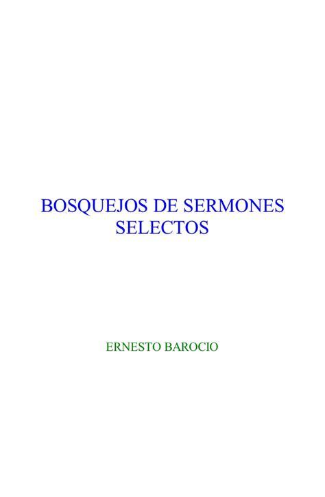 bosquejos de predicas 2 bosquejosde sermones selectos
