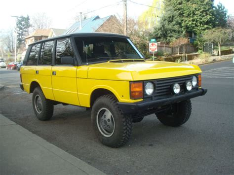 range rover engine turbo 1989 range rover turbo diesel 200tdi 5 speed manual low