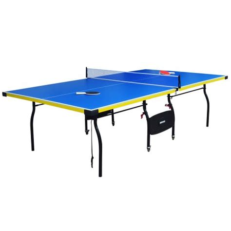 amazon ping pong table hathaway bounce back table tennis table blue