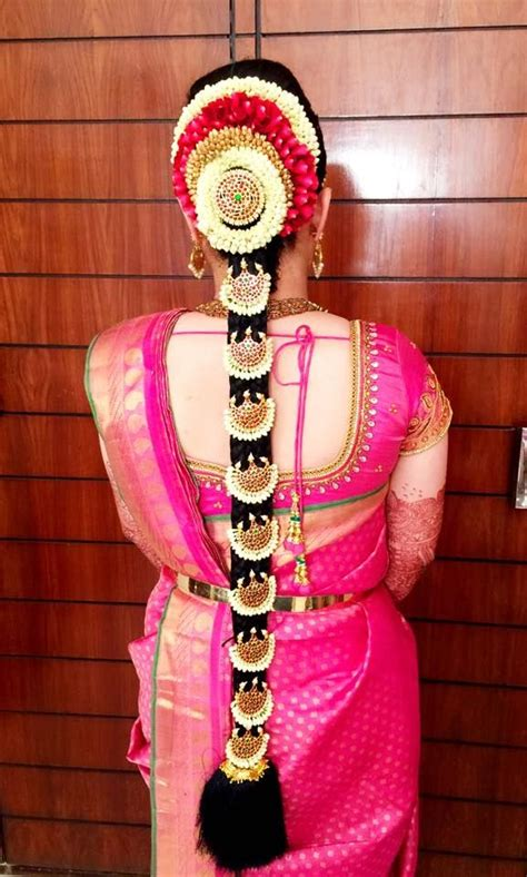 bridal hairstyles in tamilnadu videos jasmine rose flower crown south indian braidal hairstyle