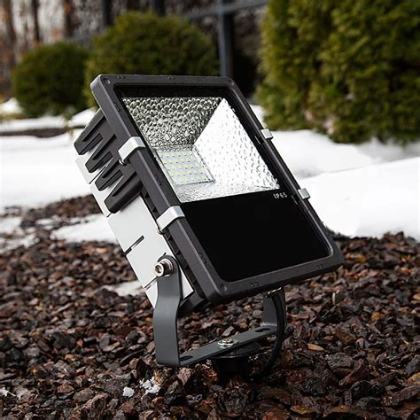 Led Landscape Flood Light Ground Mounting Stake For Led Compact Flood Light Fixture