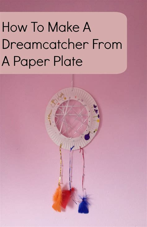 How To Make A Paper Dreamcatcher - a catcher the of spicers