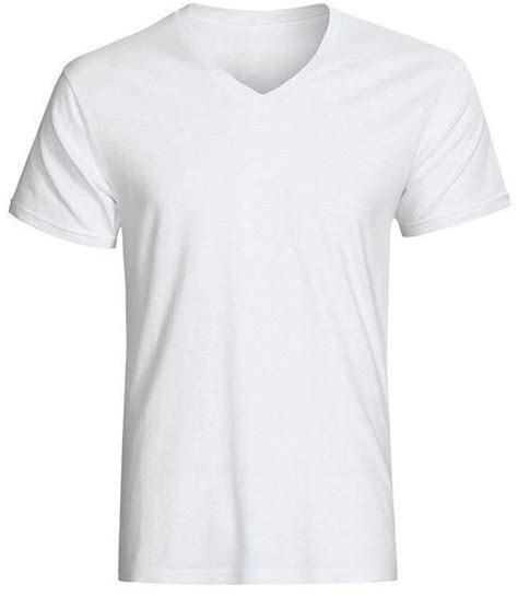 Kaos V Neck 1 Vnk Afj62 generic white v neck plain t shirt price from jumia in kenya yaoota